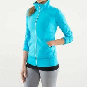 Lululemon Contempo Jacket Spry Blue Size 4